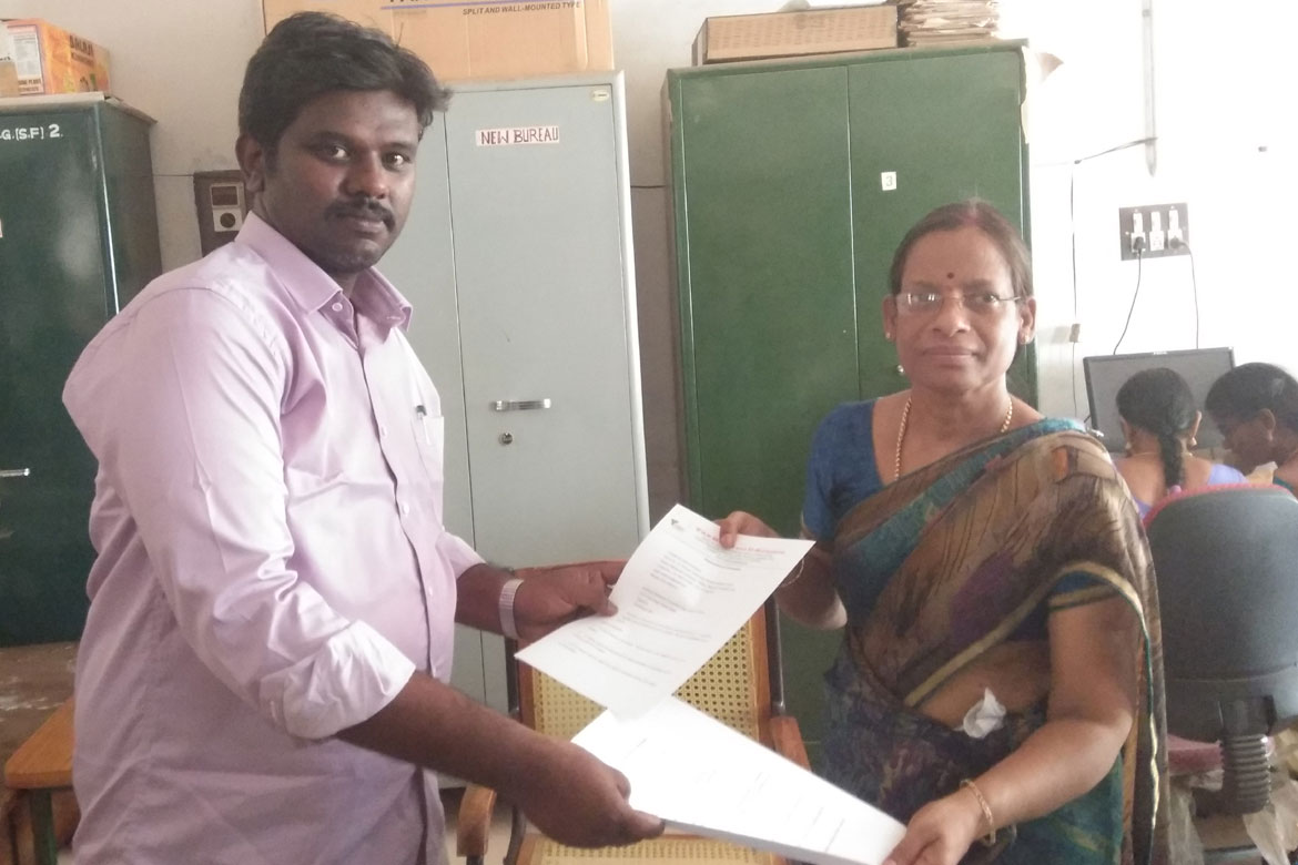 Mou with Kundavai College